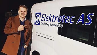 Hans Marius Andersen i Electrotec.